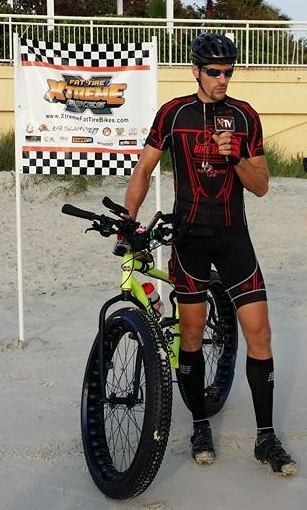 Bike Rider Attempts 24 Hour Race To Set Guinness World Record in Daytona